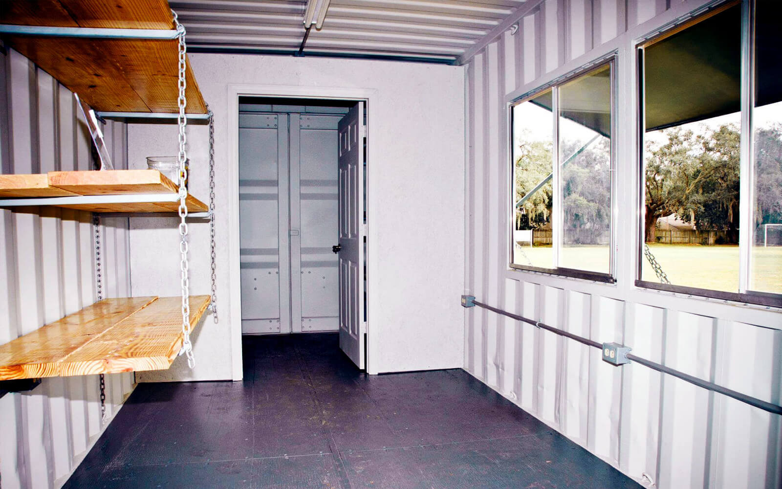 A American Container's Atlas Shelving System