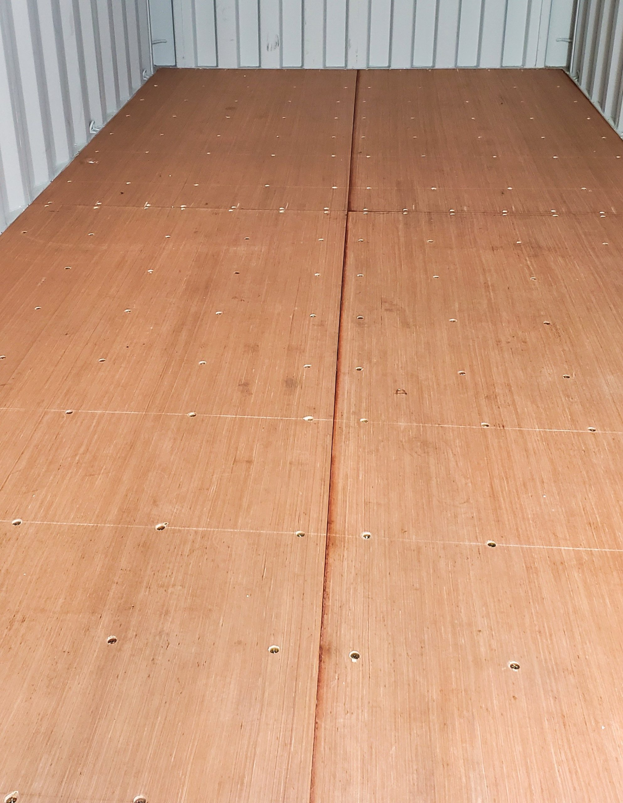A American Container wood flooring
