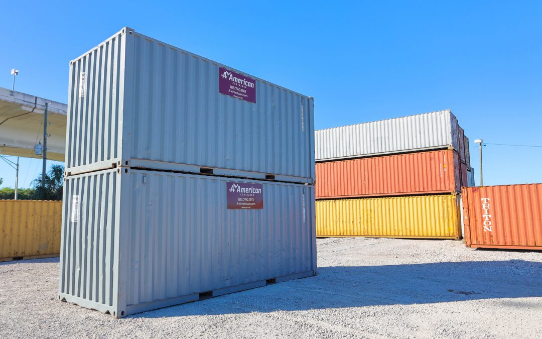 Leasing a Steel Shipping Container Tampa Bay
