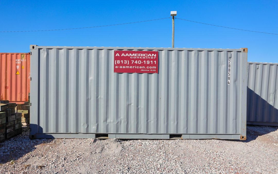 Why Do Shipping Containers Have Dings & Dents?