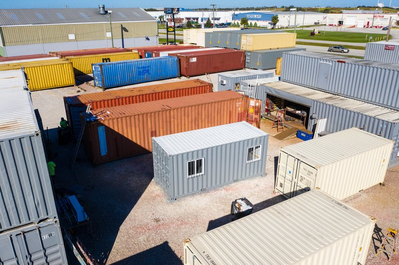 A American Shipping Cargo Containers Tampa