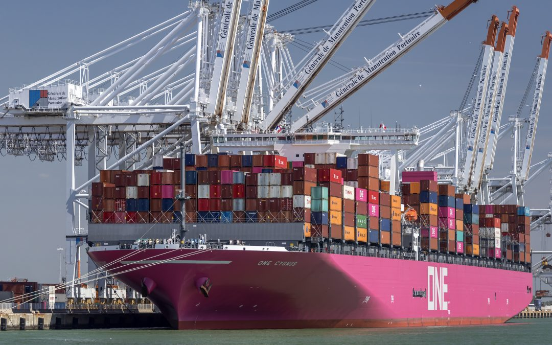 Massive Cargo Container Loss off the Coast of Japan