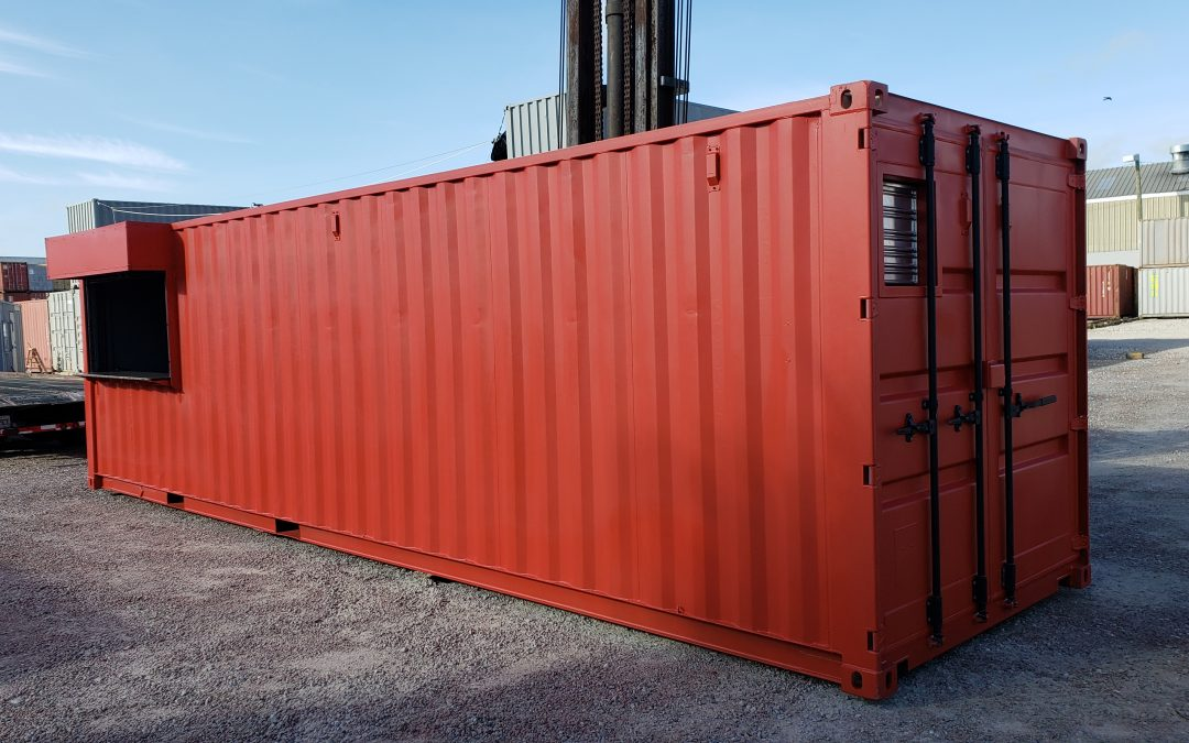 How hot do cargo containers get in Florida heat