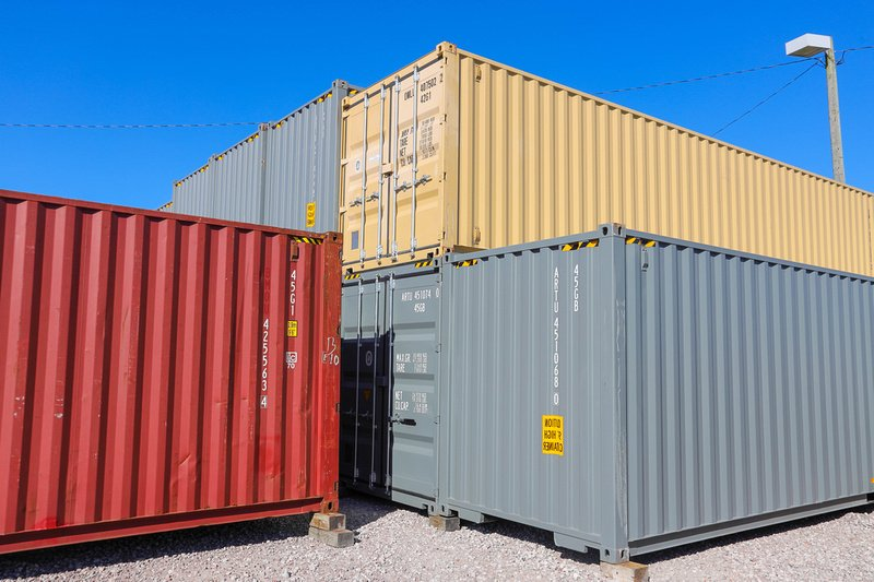 What to Look for When Buying a Used Shipping Container