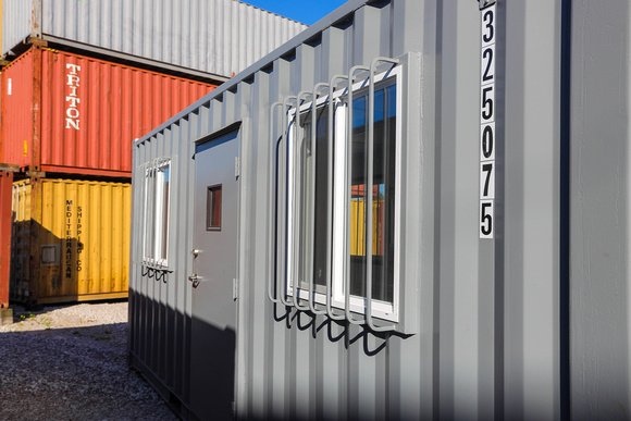 Shipping Container Offices for Landscaping Companies