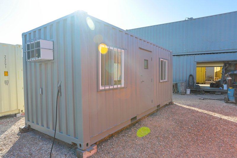 Think Inside the Box: Decorating Your Shipping Container's Interior