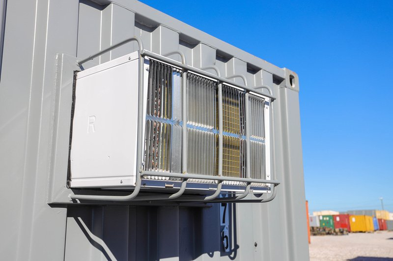 Shipping Container Heating, Cooling, and Ventilation Solutions